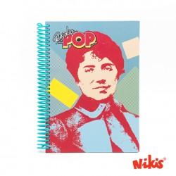Caderno Rosalía pop