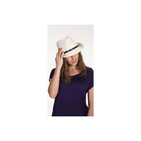 Sombrero papel blanco panama