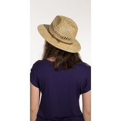 sombrero paja beis panama