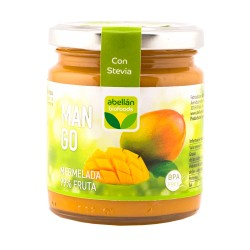 Mermelada de mango con estevia