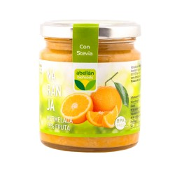 Mermelada de naranja con estevia
