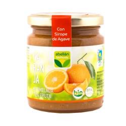 Mermelada de naranja con sirope de agave