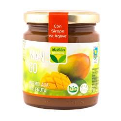 Mermelada de mango con sirope de agave