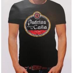 """Camiseta """"Padrino eres la caña"""""""