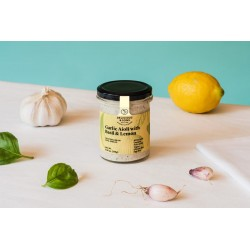 Alioli con albahaca y limón