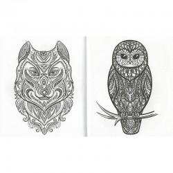 Libro tatuajes para colorear