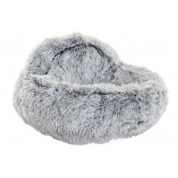 Cama mascota gris