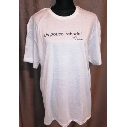Camiseta un pouco rabudo XL