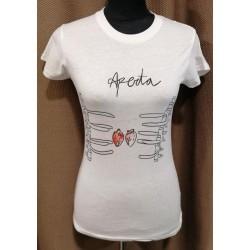 Camiseta aperta S